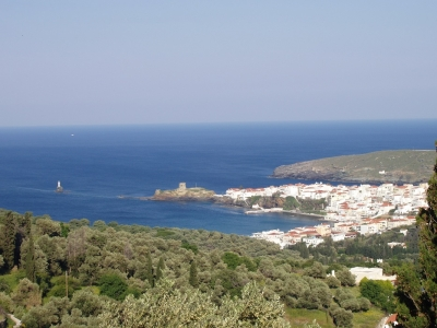 Sightseeing of Andros